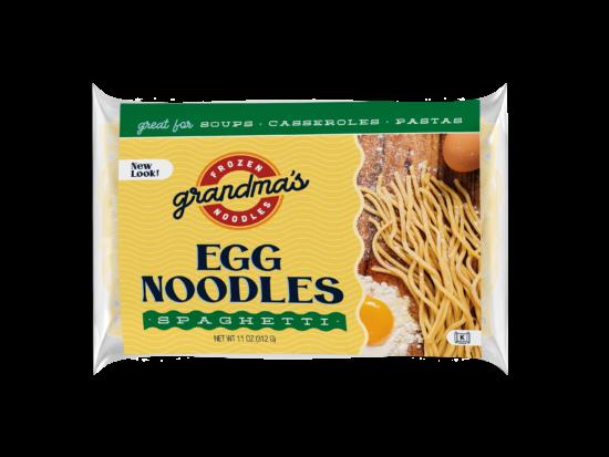 Grandma's Frozen Noodles Spaghetti