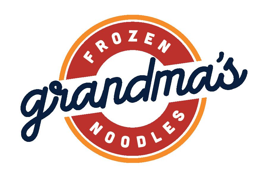 Grandma's Frozen Noodles Logo EST 1961