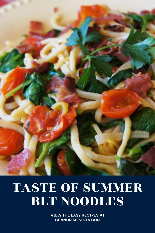 Taste of Summer BLT Noodles